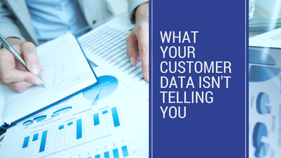 Qualitative data tells you about the customer's motivations and feelings.